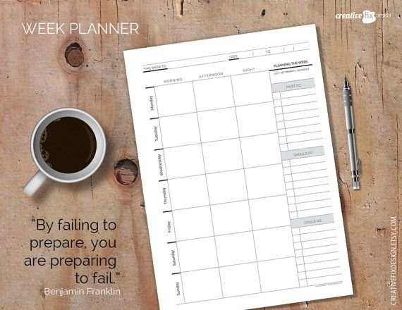 Hey, I found this really awesome Etsy listing at https://www.etsy.com/au/listing/266085549/weekly-planner-printable-a4-a5-letter