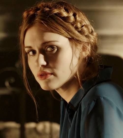 Lydia Martin; I love this character, I hated her in season 1, disliked her in season 2 and from season 3 on I LOVE her. She's smart, she's strong, she's beautiful, she's loyal, she's caring, I could go on...