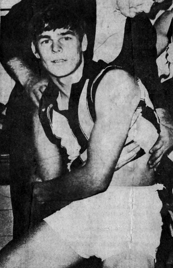 Newspaper Clipping - John Greening (Collingwood) 1969