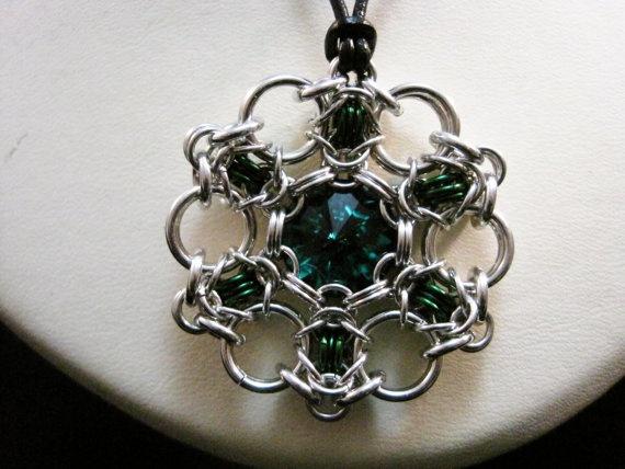 Swarovski Crystal Byzantine - by epoxymoron,