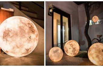 The Cool Luna Lamp Lets You Literally Give Someone The Moon