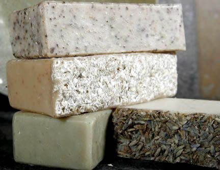 Coconut and olive oil homemade soap