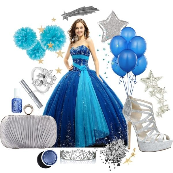 """Dancing Under the Stars Sweet Fifteen Theme"" by quincecandles on Polyvore"