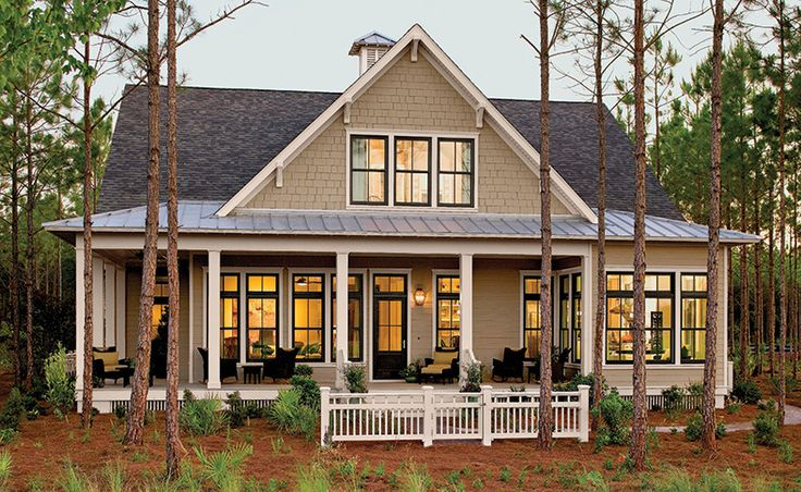 Southern Living House Plans | Tucker Bayou, Plan #1408