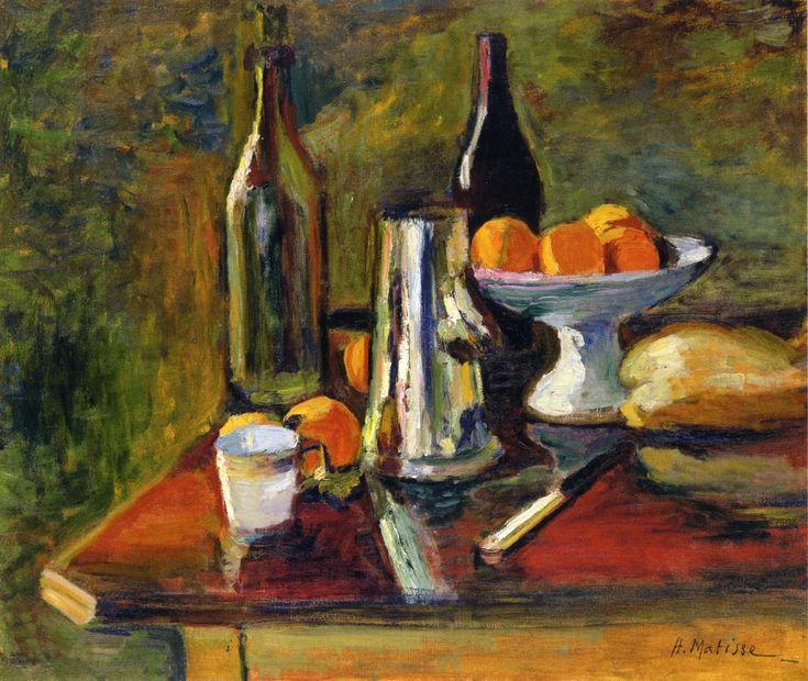 Henri Matisse - Still Life with Oranges 1898