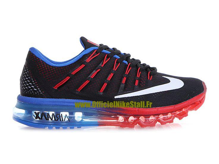Nike Air Max 2016 Bleu Et Rouge
