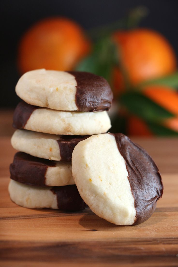 15 Awesome Christmas Cookies. 5. Clementine Chocol…