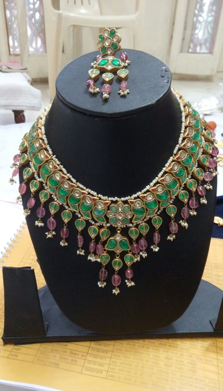 75 Best Jadau Jewellery Images On Pinterest American Indian Jewelry Enamel And Enamels