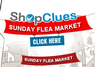 Shopclues sunday flea market [Live now]