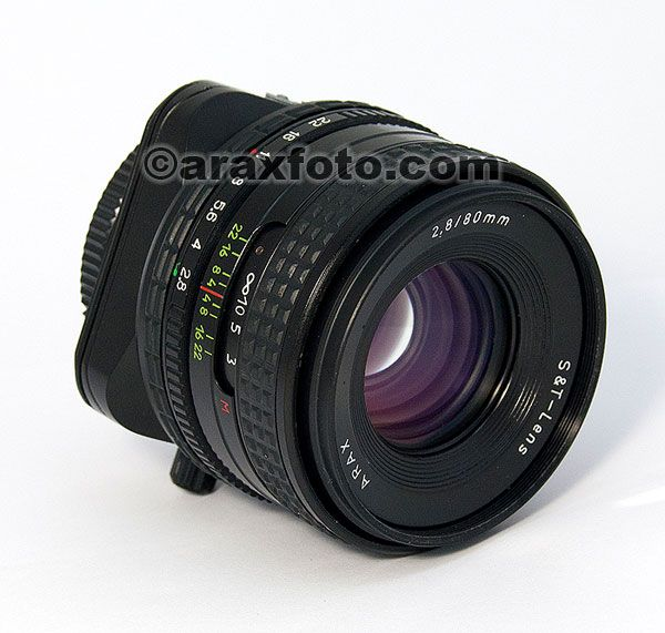 Arax Photo | Specials | ARAX 2.8/80mm Tilt & Shift lens.