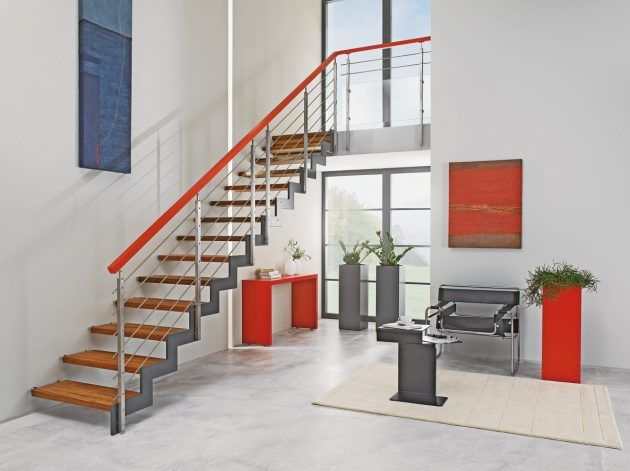 16 best Treppen images on Pinterest Staircases, Stairs and Door - moderne treppe wohnzimmer