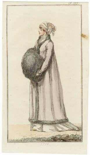 Journal des Luxus und der Moden 1799 n°35, Hand-colored engraving
