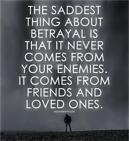 feeling betrayed by a friend