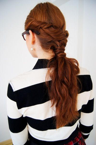21 Ways to Reinvent your Ponytail