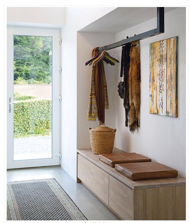 Garderobe In 2020 Small Hallway Bench