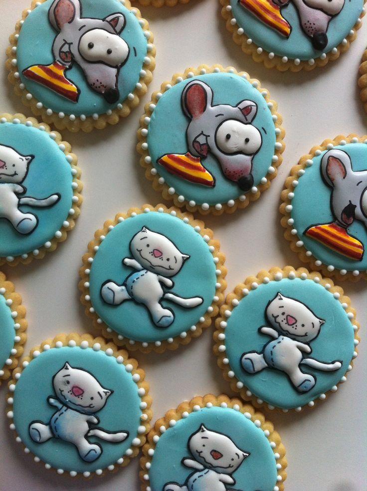 Toopy and binoo sugar cookies..
