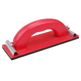 hand sander with clamps on side to hold the sandpaper $5