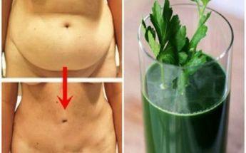 Voici une infusion de persil très simple à faire pour perdre du poids et éliminer les toxines.