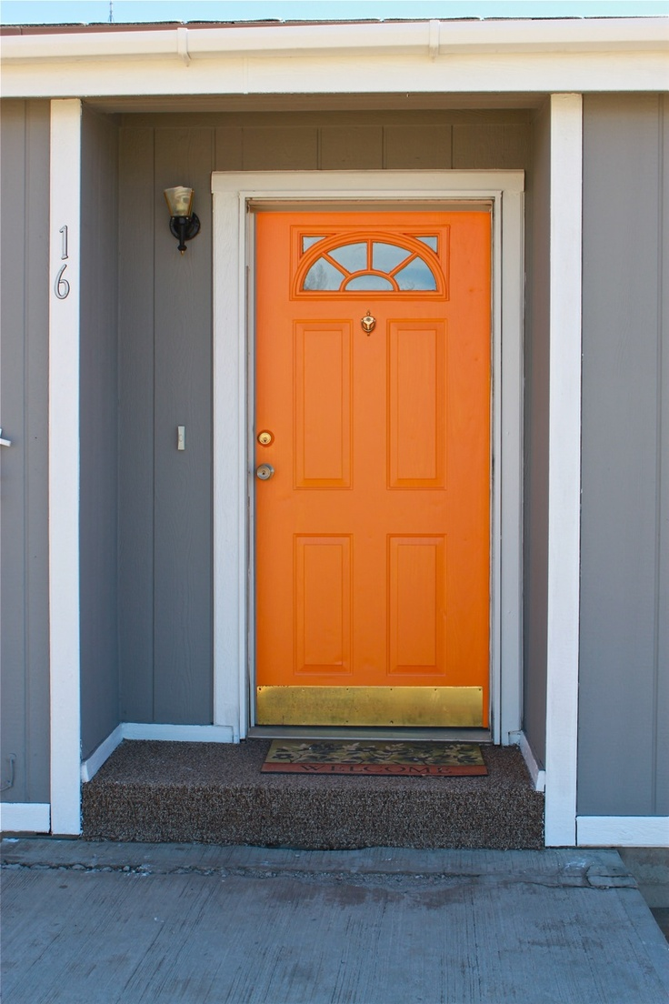 13 best front door magic colonial styles images on pinterest i finally painted a front door orange but ours had side lights which i painted rubansaba