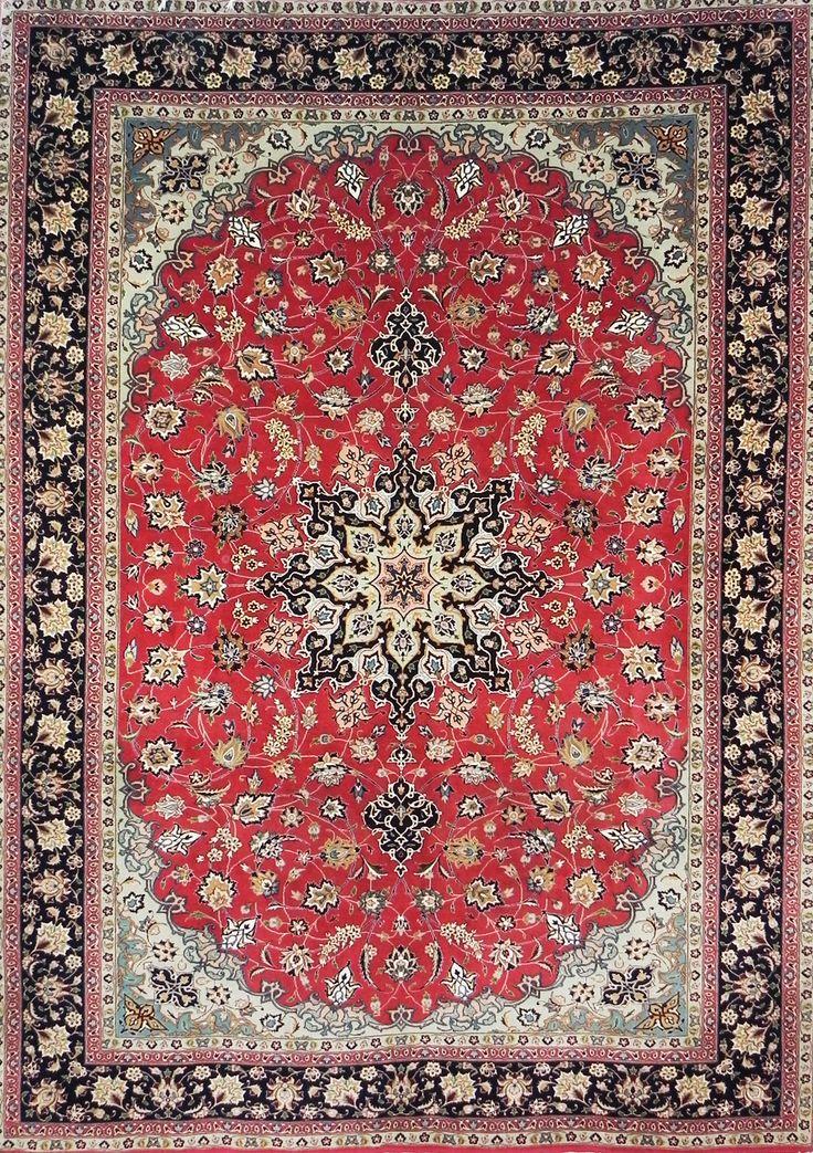 tappeto tabriz 60 raj persiano extra fine