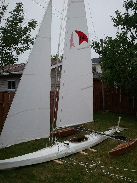build a sailboat from a kayak