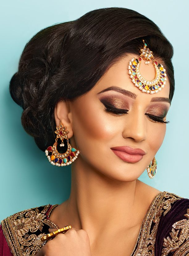 Fizh Mua Khush Mag Asian Wedding Magazine For Every Bride And Groom Planning Bridal Makeupindian