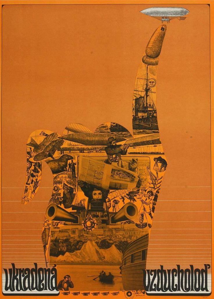 Plakát k filmu Ukradená vzducholoď