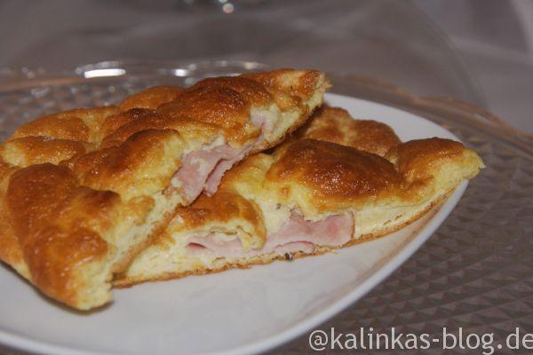 Leckeres Dukan Croissant low carb, glutenfrei für Dukan oder Low Carb, herzhaft und schnell zubereitet