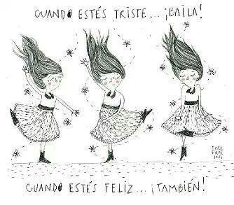 Siempre baila!!!!!