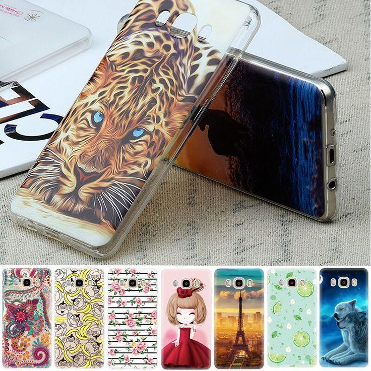 TPU Pattern Case For Samsung Galaxy A5 2016 A3 A7 j3 j5 j7 j1 Mini S6 S7 Grand Prime Full Body Phone Cover Shell