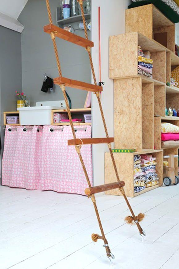 25 best ideas about strickleiter auf pinterest indoor. Black Bedroom Furniture Sets. Home Design Ideas
