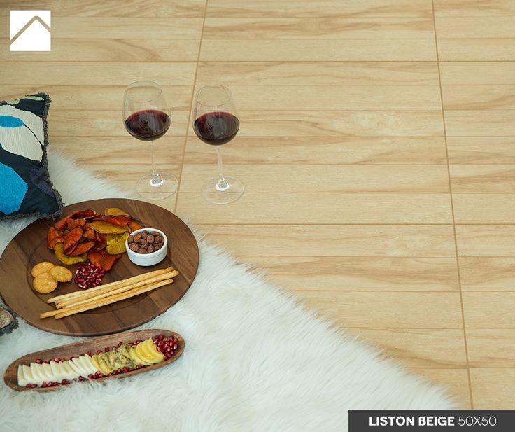 Pizza + panorama = amor del bueno.