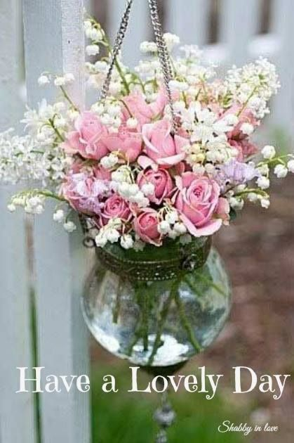 Good Morning Beautiful Pink Roses : Best images about have a good day on pinterest