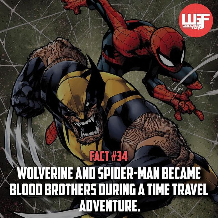 BIO- Spidey and Wolverine!! Also make sure to check out my other Instagram…