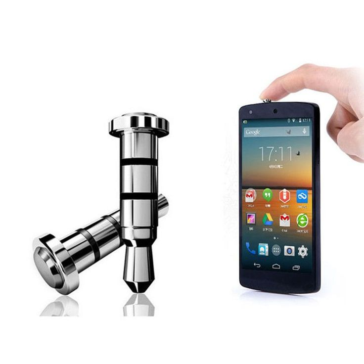 Click Quick Press Button Dust Plug Phone, Android phone