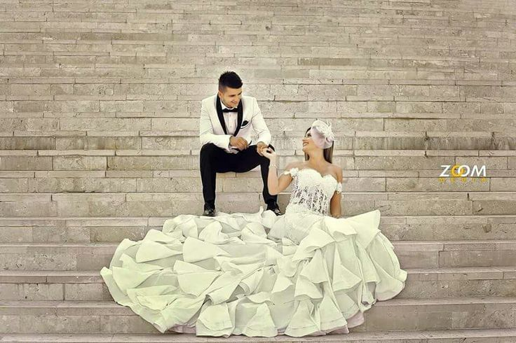 Beautiful bride and handsome groom.. they are a happy couple