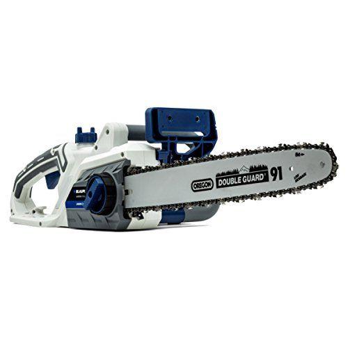 Blaupunkt Garden Tools Electric Chainsaw CS4000 - 2400W - 44cm Oregon Blade - SDS Tool Free - Automatic Chain Brake---99.99---