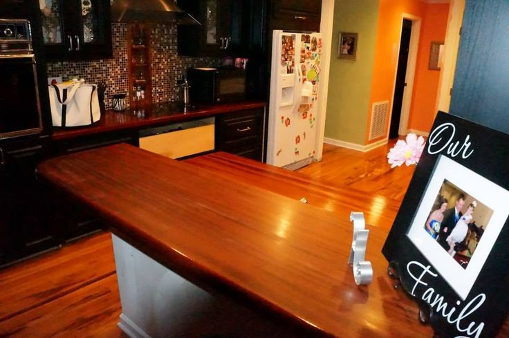 ... Wood Counter Tops on Pinterest Anchors, Wood countertops and Pine