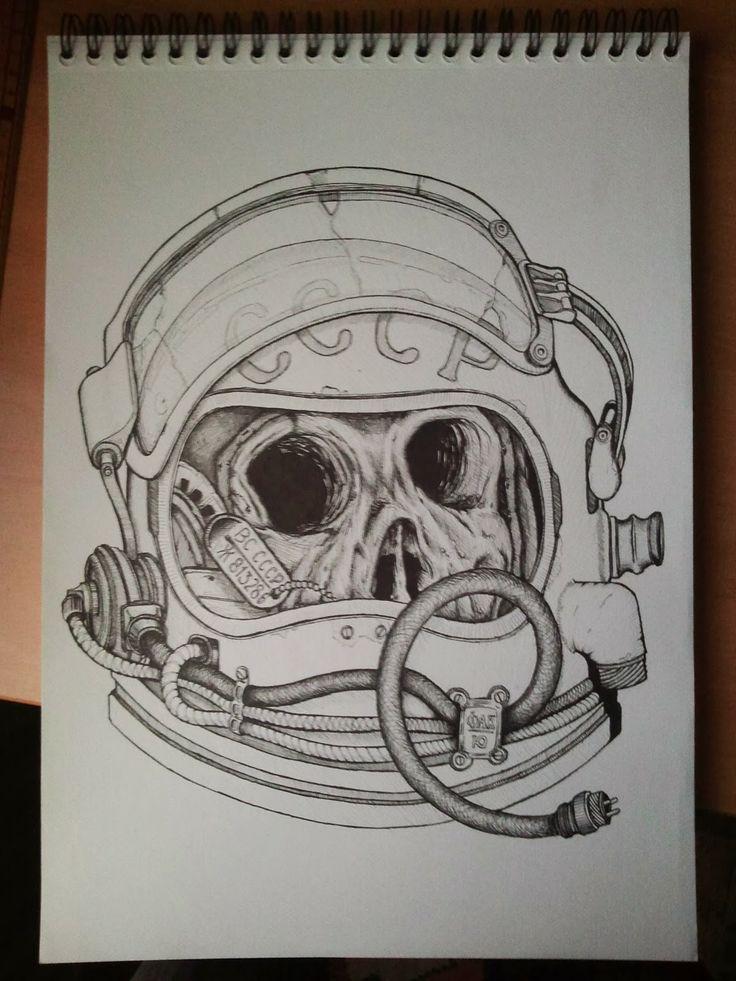 Cristian Sánchez Reus: Soviet Cosmonaut