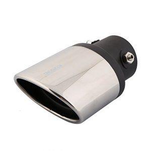 Rupse – Chromé Embout d'échappement Tuyau Acier Inoxydable Silencieux avec la Filtre pour Chevrolet Cruze TRAX Malibu etc.: ait de 304 en…