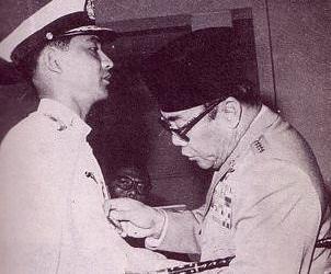Soekarno and Ali Sadikin