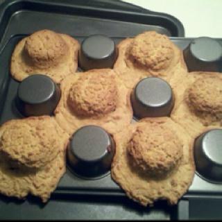 bake cookie dough on bottom of cupcake tins to make bowls for ice cream...