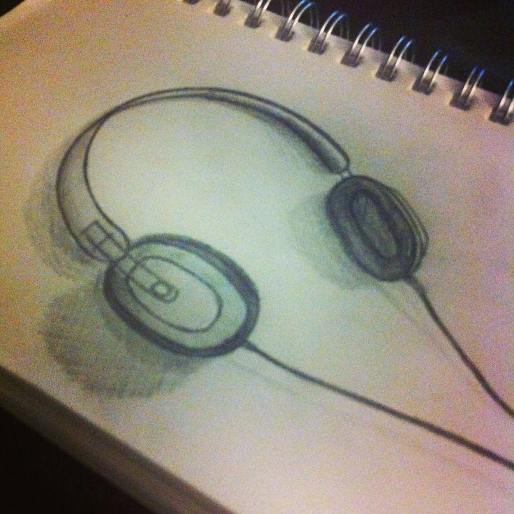 Old school headphones