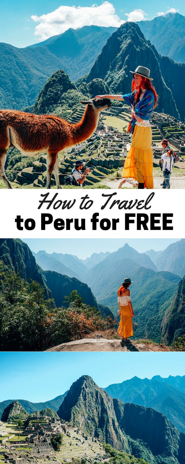 How to Travel to Peru for Free