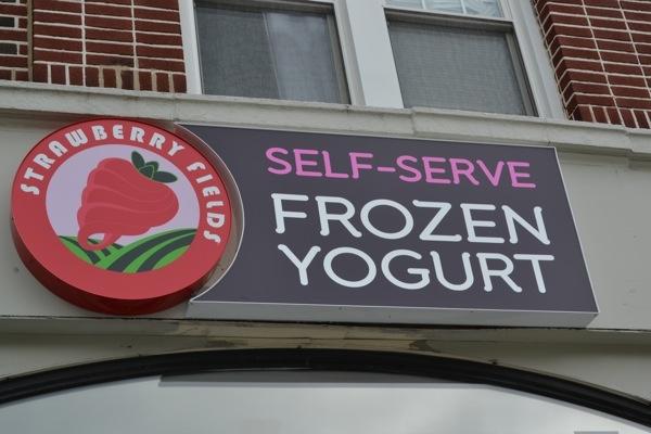 Strawberry Fields Self-Serve Frozen Yogurt