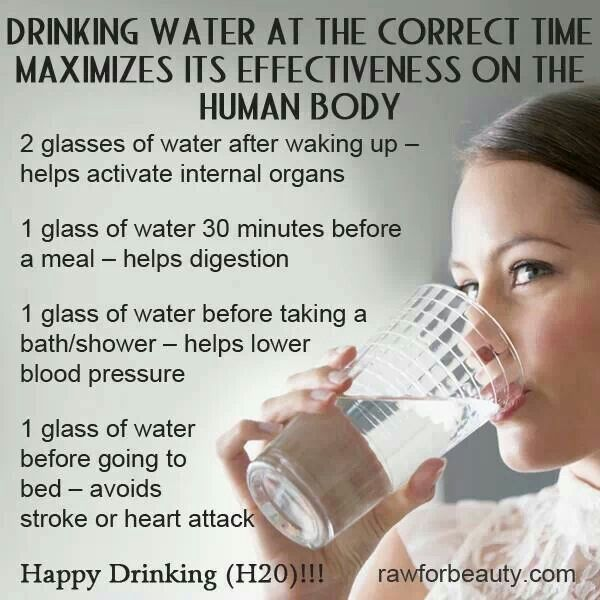 I don't know how legit this is BUT as I get older I will say I find a tremendous difference in how I feel if I drink at least a glass of water right when I wake up so... your go, Pinterest.