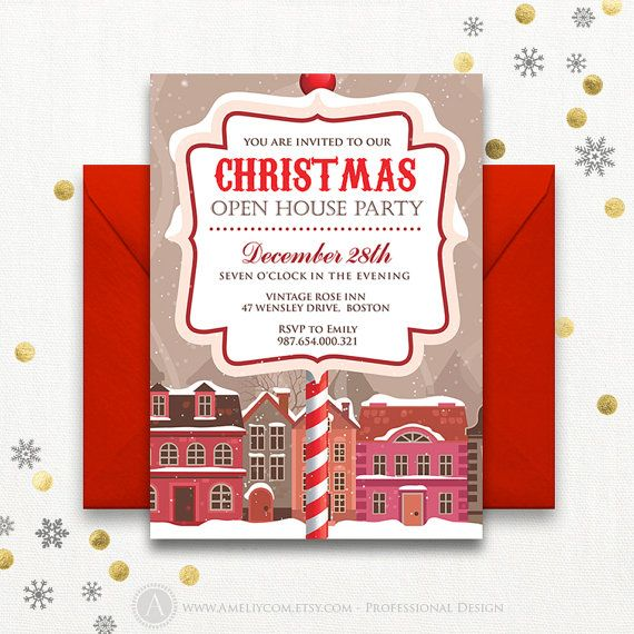 The 25+ best Holiday party invitation template ideas on Pinterest - corporate party invitation template