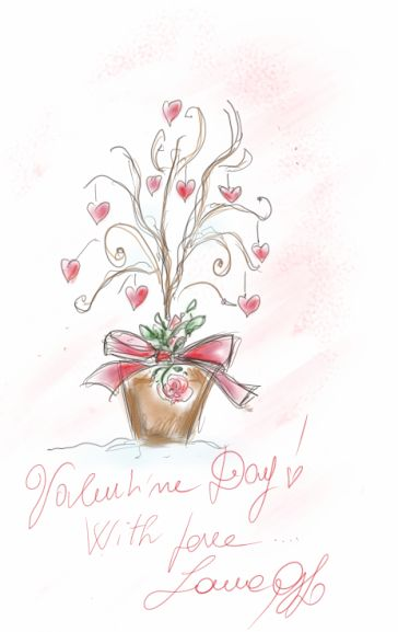 valentine day chart