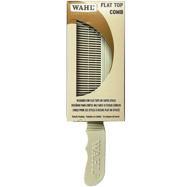 Wahl Flat Top Comb White #3329-100 $8.24 Visit www.BarberSalon.com One stop shopping for Professional Barber Supplies, Salon Supplies, Hair & Wigs, Professional Product. GUARANTEE LOW PRICES!!! #barbersupply #barbersupplies #salonsupply #salonsupplies #beautysupply #beautysupplies #barber #salon #hair #wig #deals #sales #Wahl #FlatTop #Comb #White #3329100