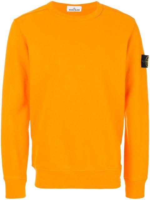 STONE ISLAND crew neck sweatshirt. #stoneisland #cloth #